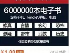 偏门赚钱项目帮人代找电子书日赚100